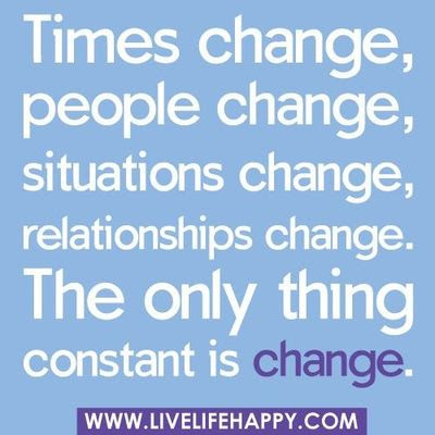 Times Change People Change Situations Change Inspiring Quotes