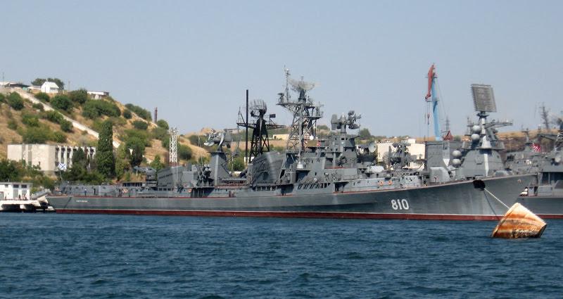 """Το ρωσικό αντιτορπιλλικό """"Smetlivy"""" πέρασε τα στενά των Δαρδανελλίων"""