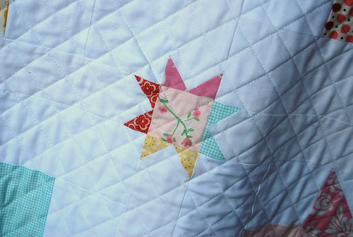 baby girl quilting