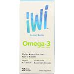 Iwi - Supp Alge Epa-dha Omega3 -30 Sgel