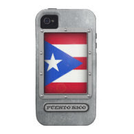 Puerto Rican Steel Vibe iPhone 4 Cases