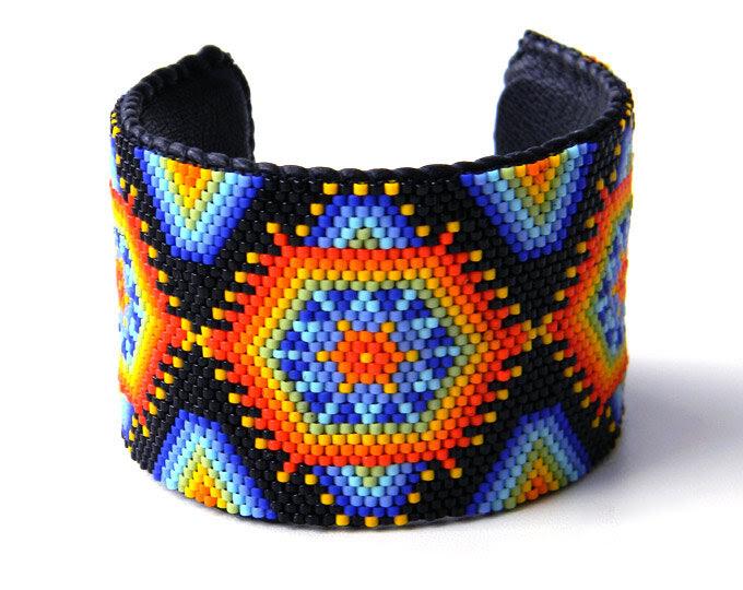 купить этнические украшения ручной работы из бисера anabel интернет магазин