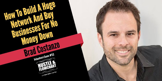 How To Build A Huge Network And Buy Businesses For No Money Down - Brad Costanzo - Evergreen Profits - Learn Content Marketing With Matt Wolfe & Joe Fier