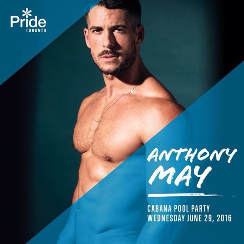 TORONTO PRIDE 2016 // Cabana Pool Party 29th june by Anthony May Dj