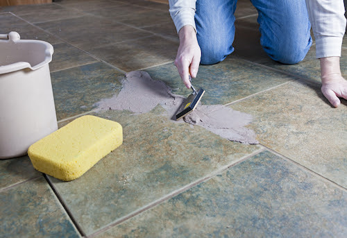 How to Re-Grout Ceramic Tile - InterNACHI
