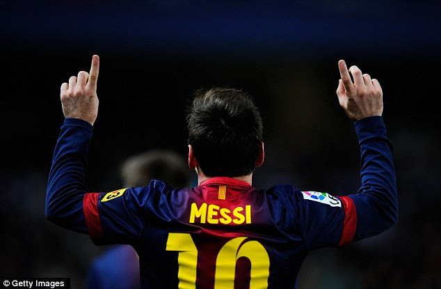 Perseverance: Messi got his goal in the end to kill the tie off once and for all