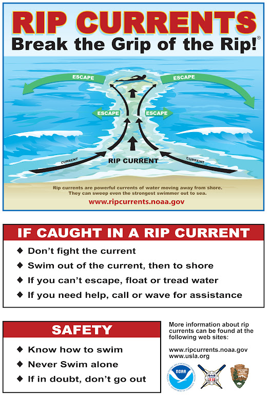 Rip currents: be smart - Leave Only Footprints