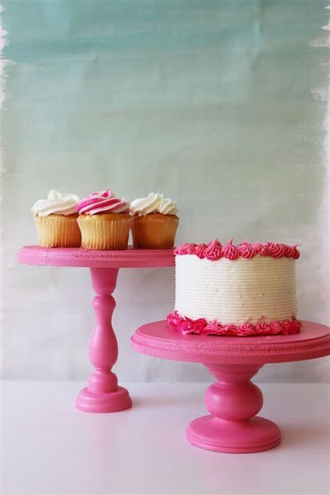 25  unique Homemade cake stands ideas on Pinterest   Cake