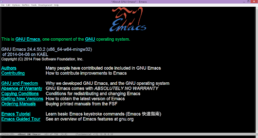 emacs-w64 | 64-Bit GNU Emacs for MS Windows with optimization