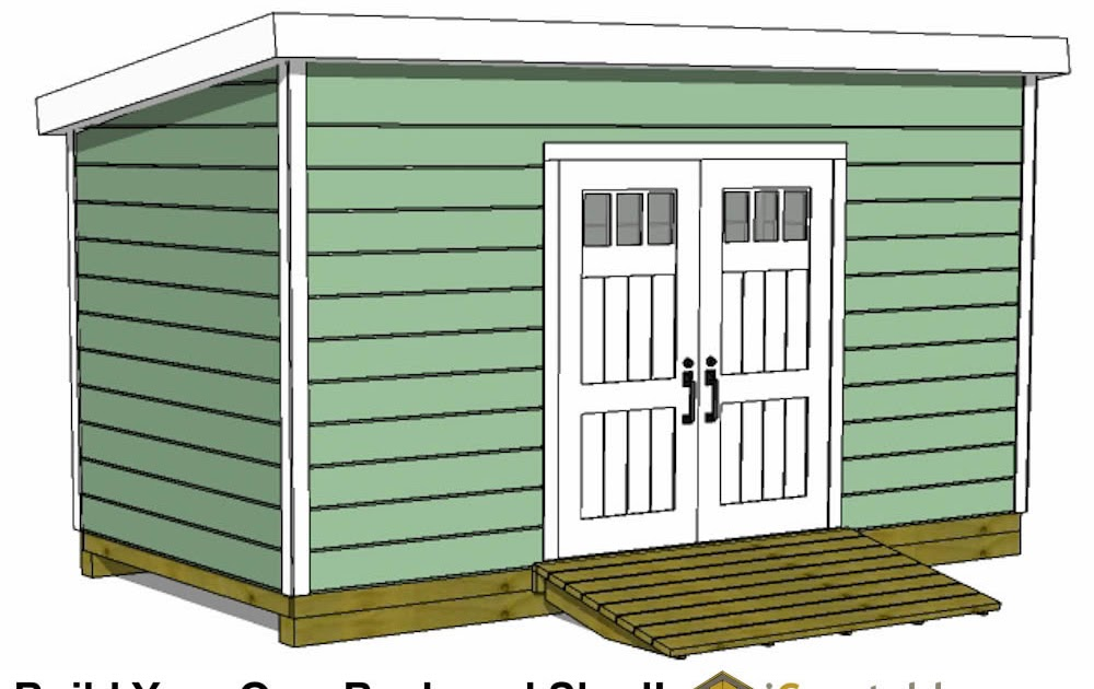 Tsle More Storage Shed Plans 16x24