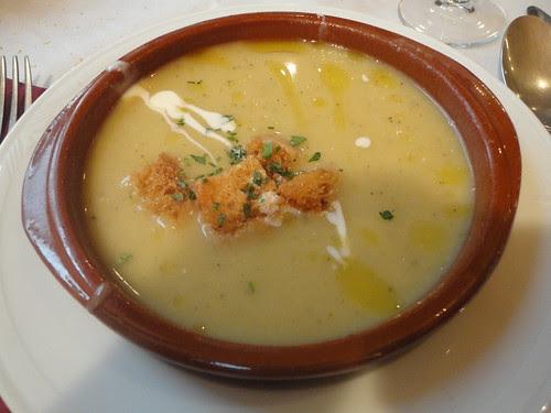 Crema de verduras del Rincón del Bierzo