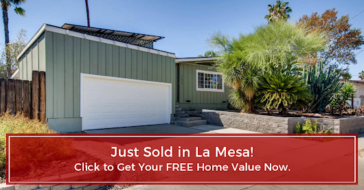 Another La Mesa Home Just Sold!