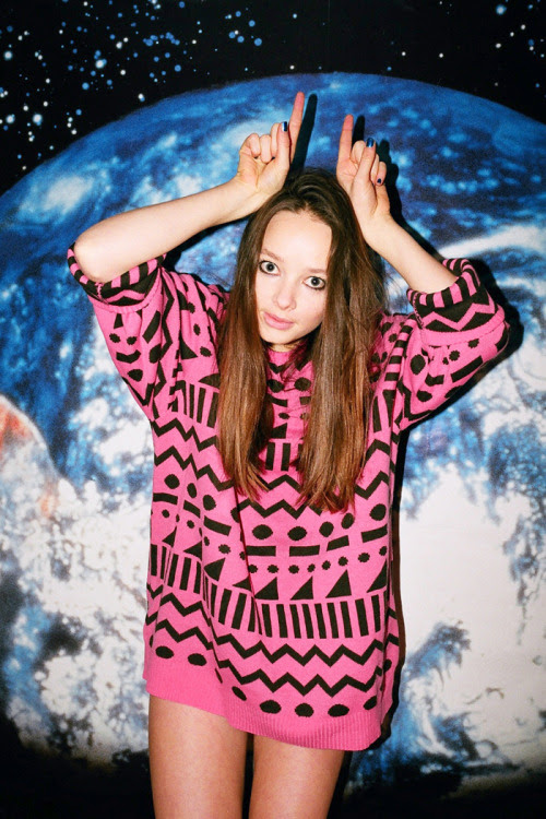 Our latest jumper is out of this world.