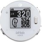 GolfBuddy VoiceX Smart Talking Golf GPS - White