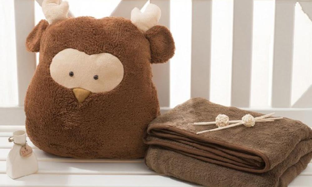 3 in 1 Plush Toy Pillow & Blanket Groupon