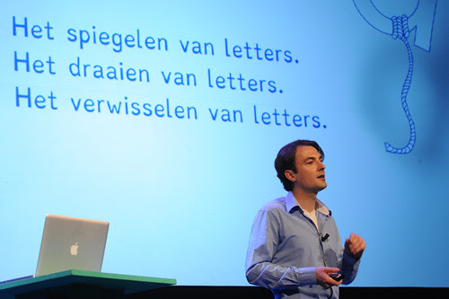 Christian Boer on stage of PINC.13 by PINCNetherlands