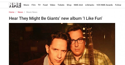 NME exclusive streaming preview of the new They Might Be Giants album - Lojinx