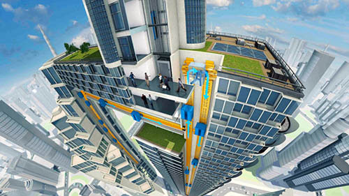 This Elevator Moves Horizontally and Vertically! | Tech and Facts