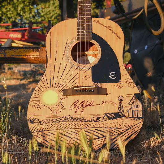 CRAIG CAMPBELL // SIGNED GUITAR GIVEAWAY