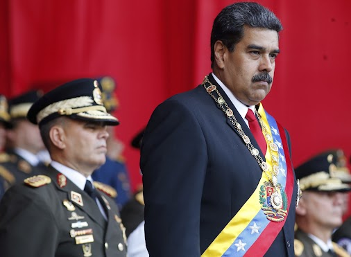 TV Cut as 'Drone-Like' Devices Allegedly Try to Kill Venezuelan President  Latest Update: Six suspects...