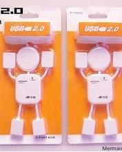 0318. USB Hub robot 4 cổng