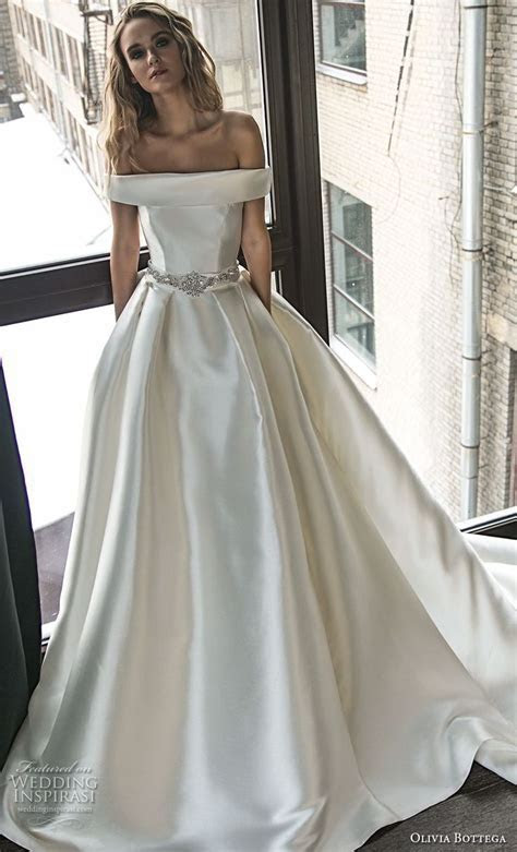 876 best satin, silk, solid, non lace wedding dresses