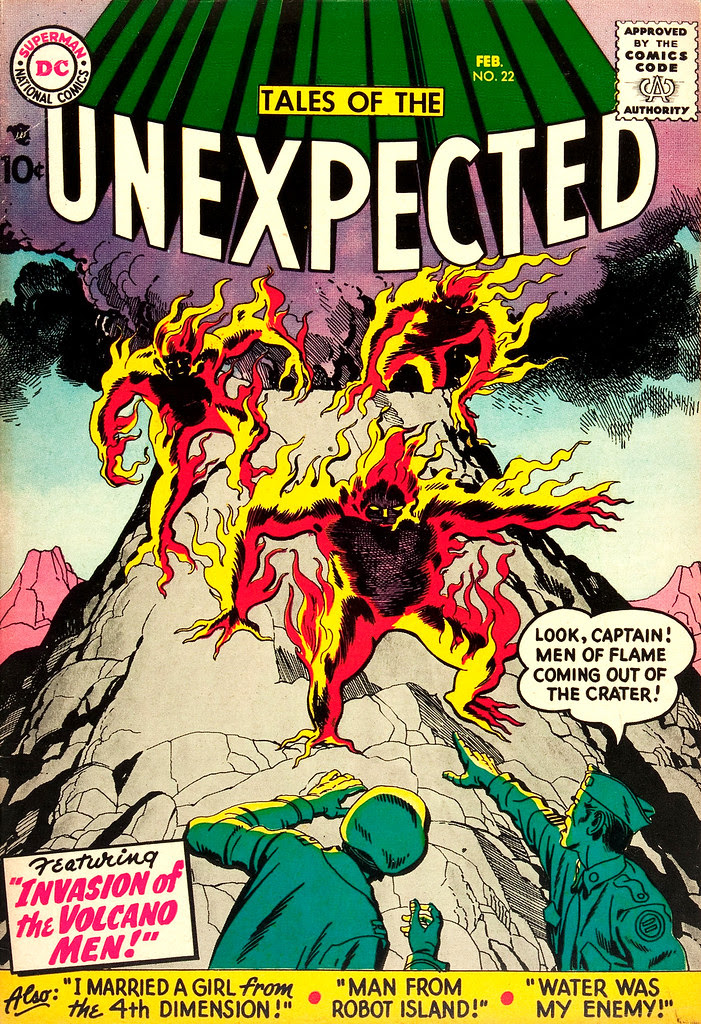 Tales of the Unexpected #22 (DC, 1958) Jack Kirby cover