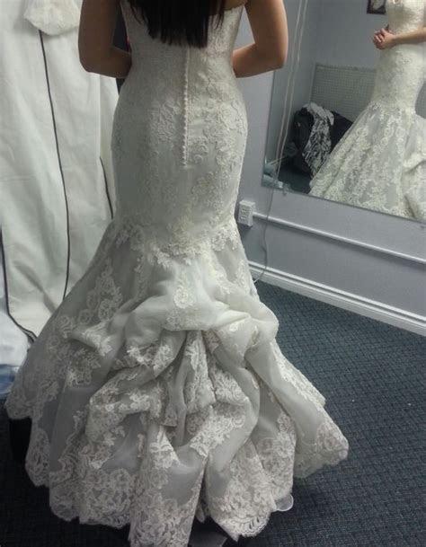 American Bustle Wedding Dress   Did you bustle your dress