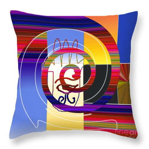 The Hand 3 Throw Pillow