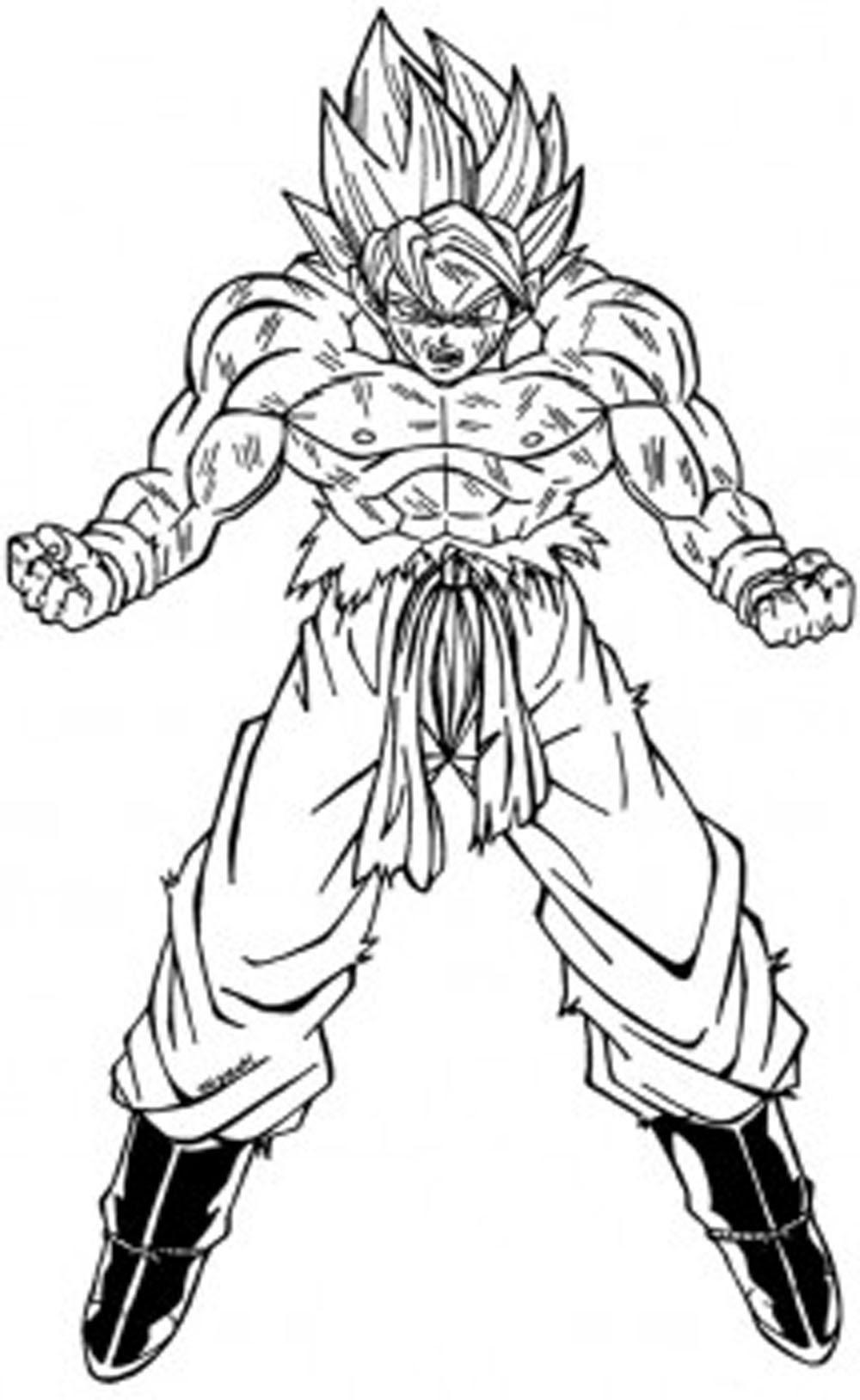 V Super Completo Imagenes De Goku Para Colorear Ultra Instinto
