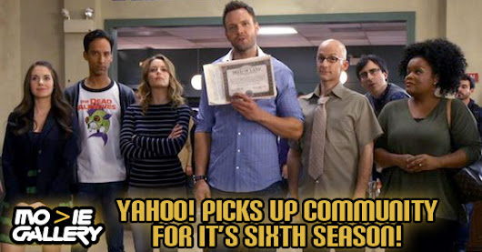Go Greendale! Community Returns on Yahoo!