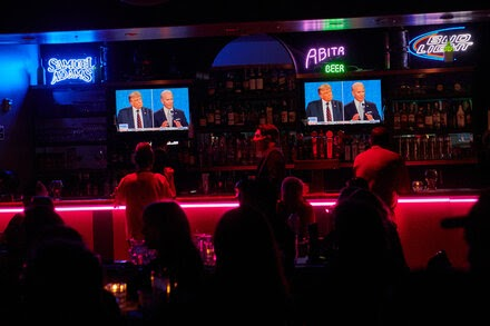 TREND ESSENCE:In Trump and Biden, a Choice of Teetotalers for President