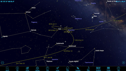 How to Spot an Asteroid with Mobile Astronomy Apps