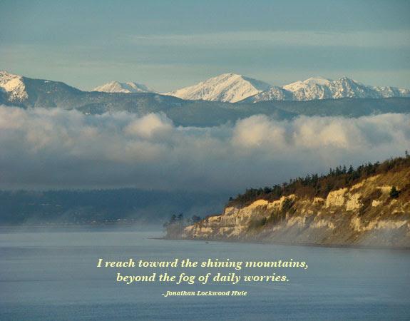 I Reach Toward The Shining Mountains By Jonathan Lockwood Huie