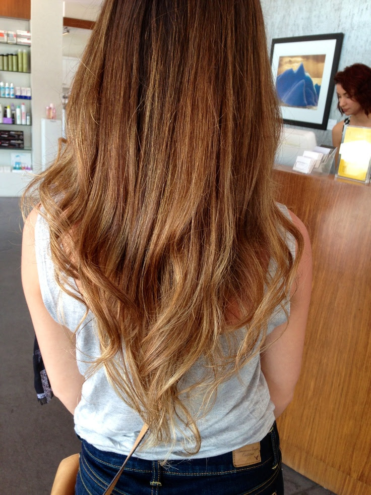 Light Brown Hair Ombre 2015 New Hair Style