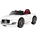 Best Choice Products 12V Kids Bentley EXP 12 Ride On Car with Remote Control - White