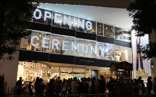 General view of 'Opening Ceremony' Japan flagship store on August 29, 2009 in Tokyo, Japan. Opening Ceremony will open its first store in Tokyo's fashion district Shibuya on August 30.