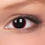 Hell Raiser Black and Red Theatrical Contact Lenses