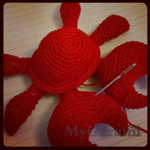 Crab progress