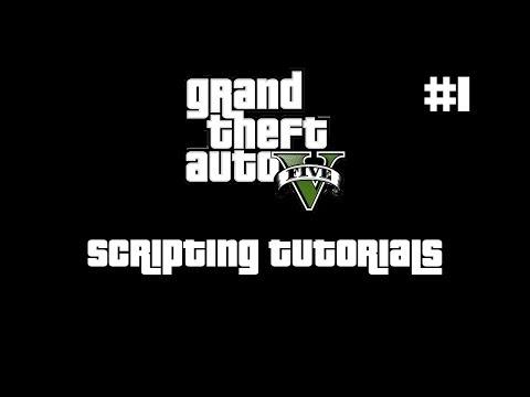 How to make scripts for GTA V PC | Mårten Wasteson's blog