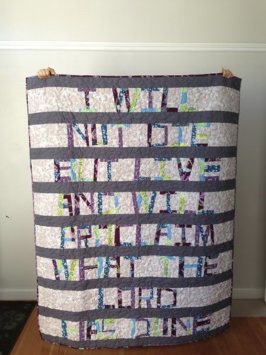 Proverbial Quilt