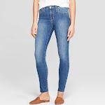 Women's High-Rise Skinny Jeans - Universal Thread Medium Wash