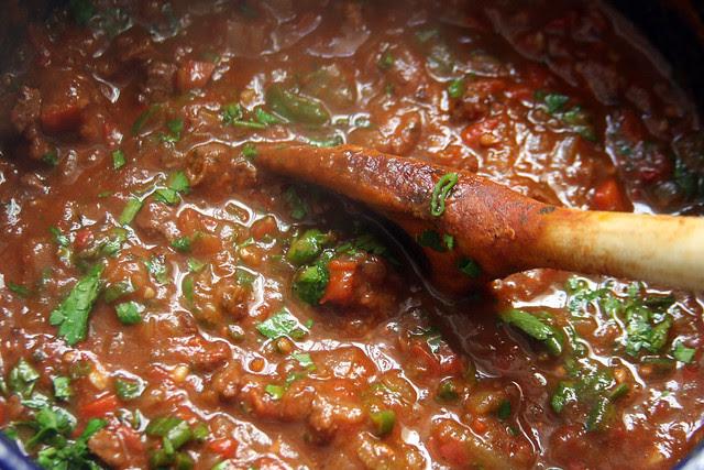 Ragú de Carne y Salchicha Parrillera