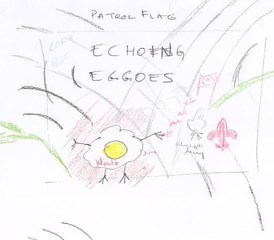 Echoing Eggoes Patrol Flag