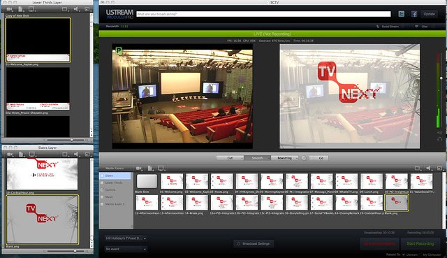 #TVNext Ustream Producer Pro Setup