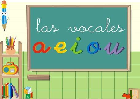 Las vocales juego interactivo para aprender las primeras letras | RECURSOS PARA EDUCACIÓN Y BIBLIOTECAS | Scoop.it