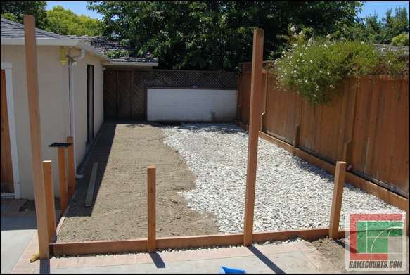 Is Concrete Required Building A Backyard Multi Sport Game Court