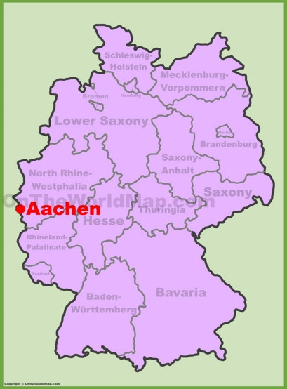 Aachen Maps | Germany | Maps of Aachen