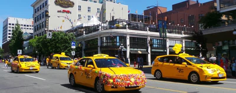 Yellow Cab Of Victoria Victoria Bc 817 Fisgard St