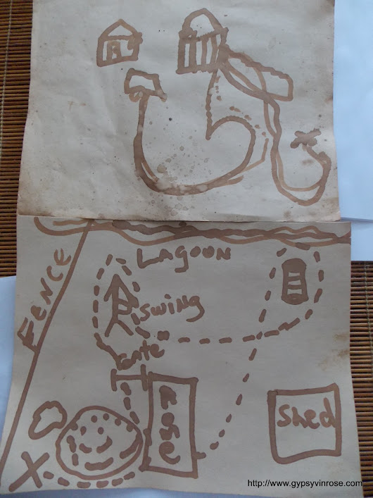 Homeschool Science Project: Treasure Maps and Invisible Ink